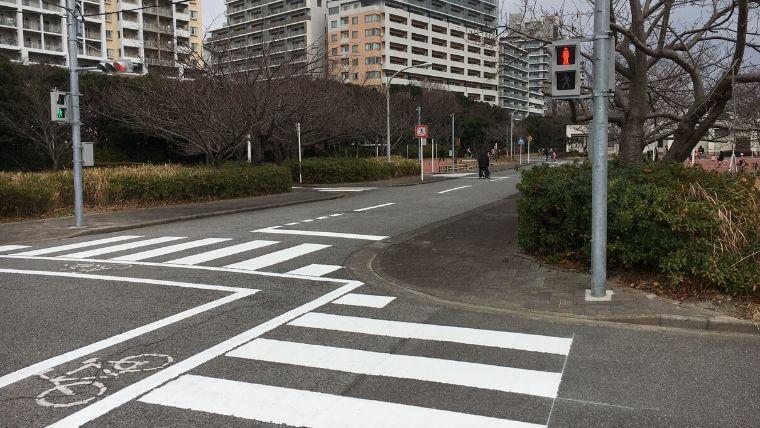 花見川緑地交通公園 信号機