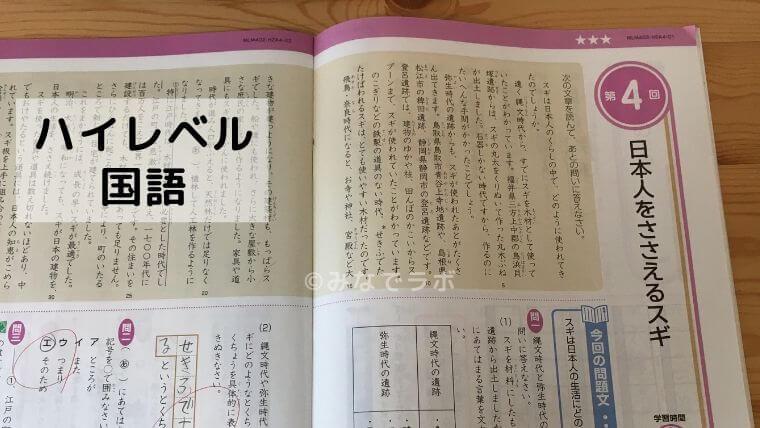 Z会 ハイレベル 国語